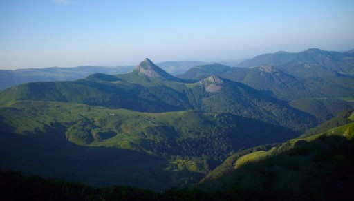 The Cantal volcano